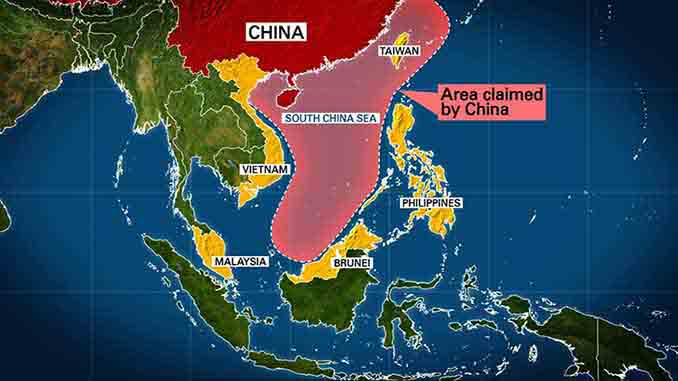 Image result for south china sea, maps