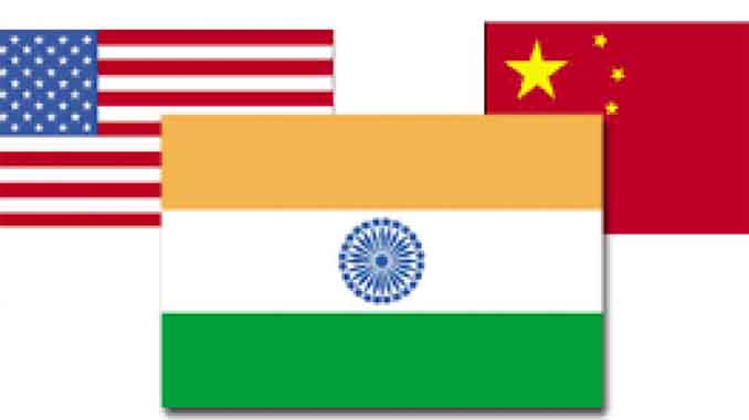 India-China-US strategic triangle