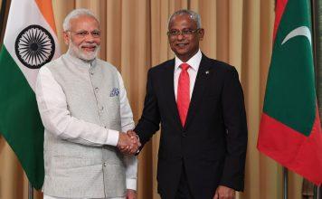 President Ibrahim Mohamed Solih and PM Modi