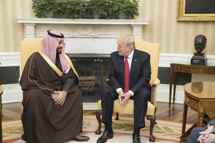 Crown Prince Mohammed Bin Salman (MBS) and President Trump