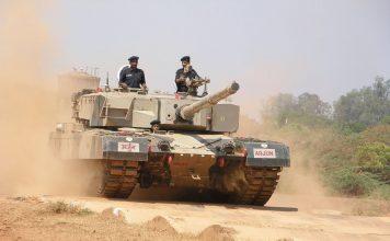 Indian Arjun MBT