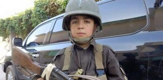 Wasil Ahmad, 10, who fought the Taliban and was killed by them.