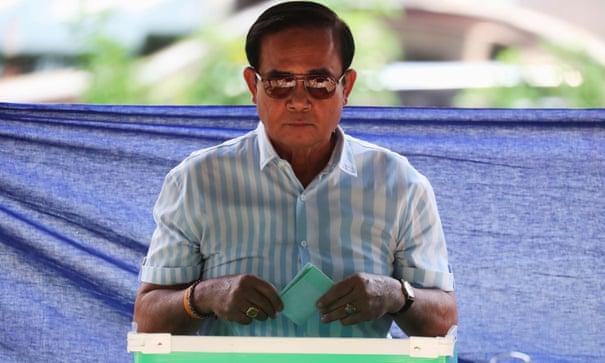 Thai Prime Minister Prayut Chan-ocha