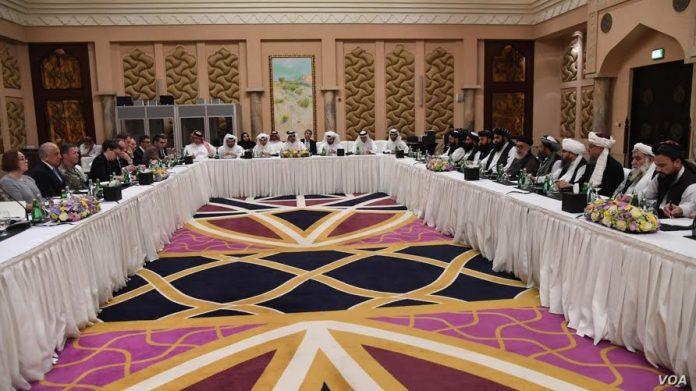 Afghan peace talk in Doha