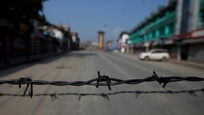 Jammu and Kashmir Locked Down