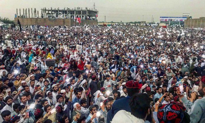 Pashtun Tahafuz Movement march