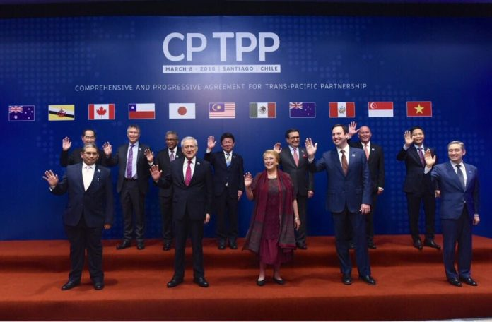 TPP signing
