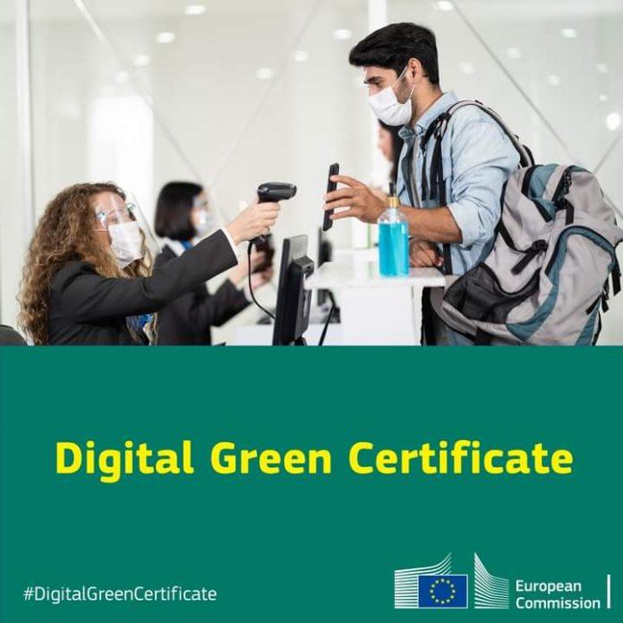 EU Green Digital Covid Certificate