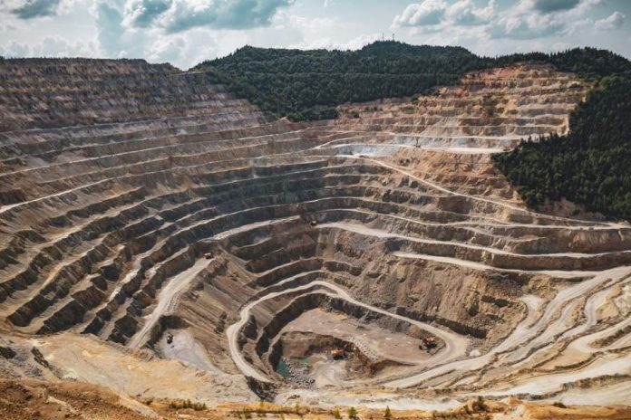 Earth mining picture