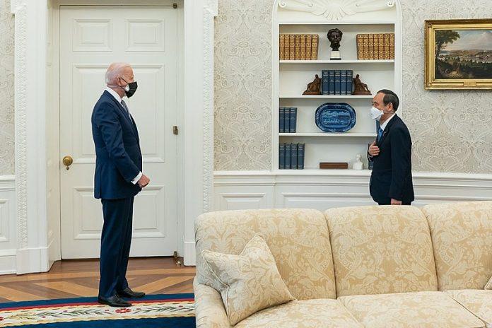 PM Yoshihide Suga and President Biden