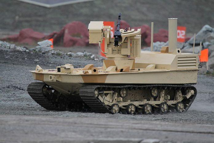 Autonomous Russian Tank