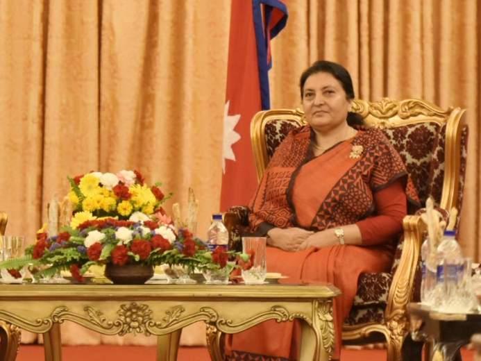 President of Nepal Bidya Devi Bhandari