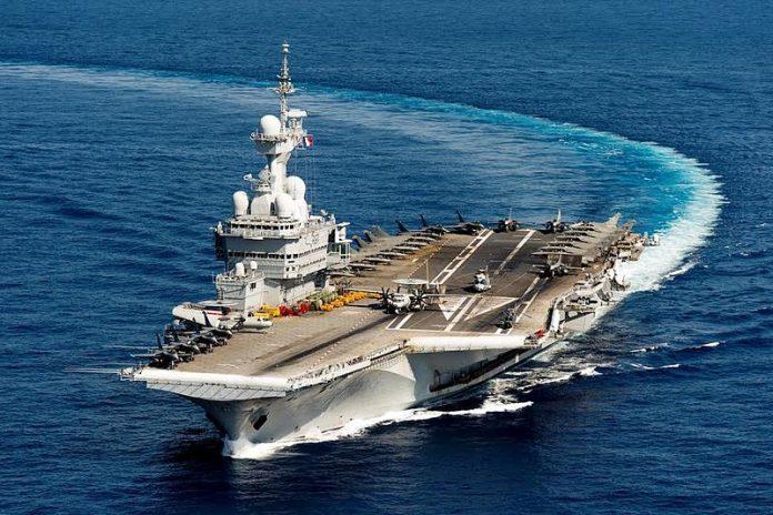 Charles de Gaulle aircraft carrier