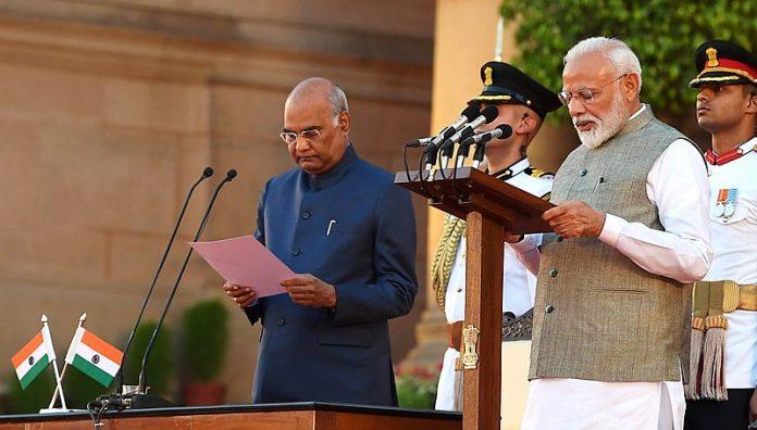 Shri Ram Nath Kovind and PM Modi