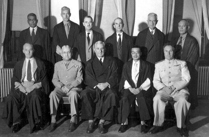Judges of the Tokyo Tribunal