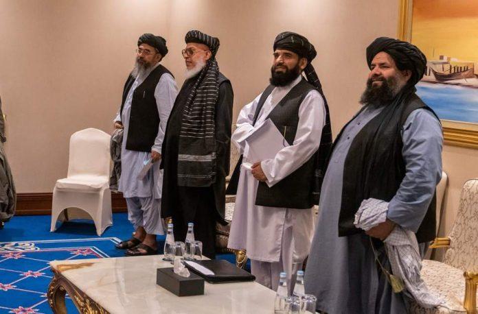 Taliban Delegation in Doha