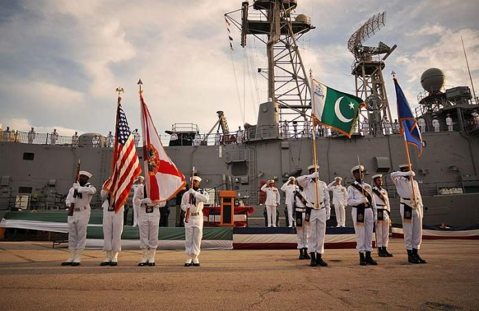 decommissioning ceremony of USS McInerney