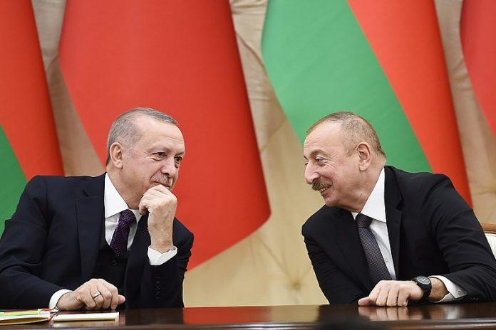 Recep Tayyip Erdogan and Ilham Aliyev